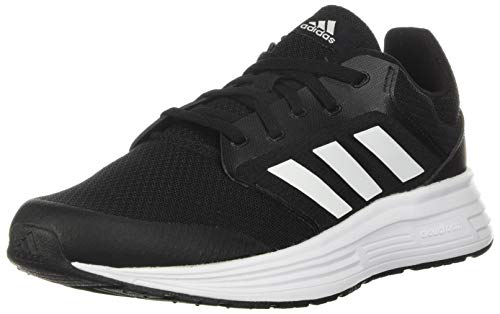 adidas Mens Galaxy 5 Running Shoe, Core Black/Footwear White/Footwear White,43...