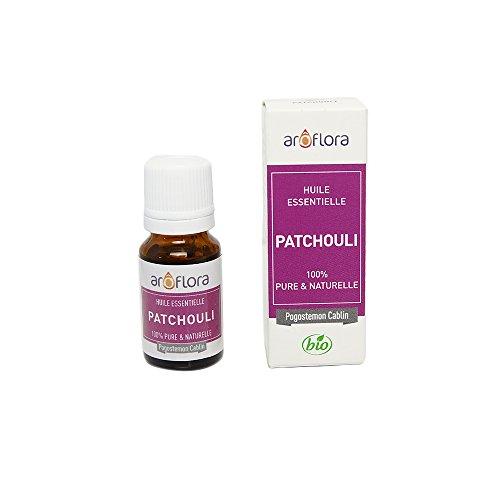 Arôflora Huile Essentielle de Patchouli 100% Pure/Naturelle 10 ml