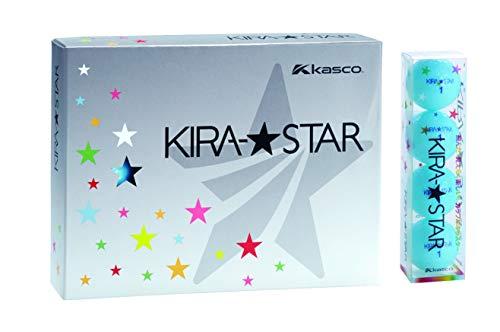 キャスコ(Kasco) ゴルフボール KIRA STAR2 キラスター2N アクア ダース