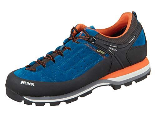 Meindl Herren Literock GTX Schuhe, blau-orange, UK 10