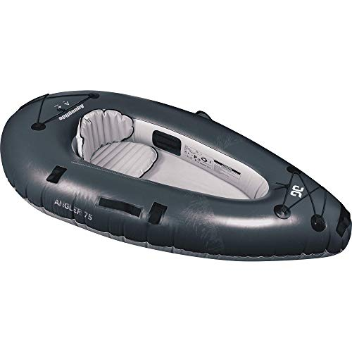 AQUAGLIDE Backwoods Angler 75, Ultralight Inflatable Angling Kayak, 231 cm L