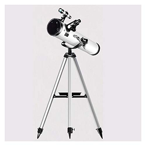 LTH-GD Teleskop astronomisch professionelle Zoom 875 mal hd nachtsicht Tiefe Space Star View mond Meteor dusche 1,25 Zoll Accessories for Astronomical telescopes (Color : Silver)