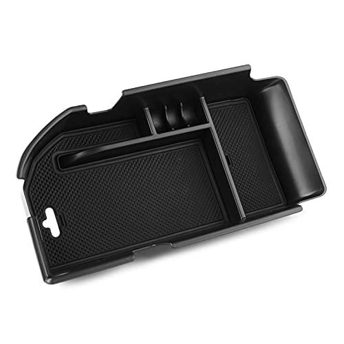 Wishful Ajuste para Camry 2018 Centro de automóviles Consola Armés Armés Bandeja Organizador Bandeja Black ABS Plástico
