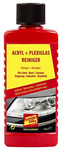 Auto number one Pflege 1076 Acryl- und Plexiglasreiniger 200 ml