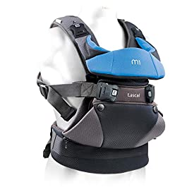 """Lascal m1 Carrier, 8-33 lbs, Superior Hip-Healthy """"M-Position"""" Seat for Infants, Patented Hip-Zip Support for Toddlers, Multi-Position Ultra Comfortable Carrier for Parents, Babies & Toddlers"""