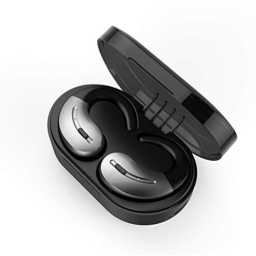 Touch Control Bluetooth 5.0 Earbuds - Drahtlose Kopfhörer Bluetooth Headset Kopfhörer Siri Next/Vor Song for iOS, Android Andere Smart Devices,C