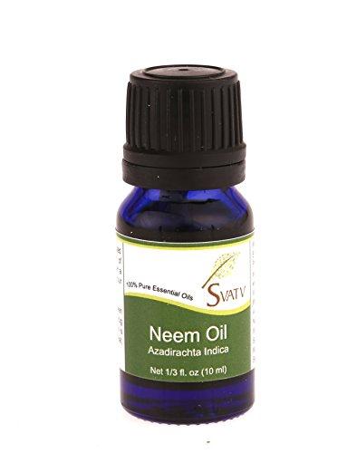 SVATV - Aceite esencial de nim, 10 ml, para aromaterapia, calidad terapéutica.