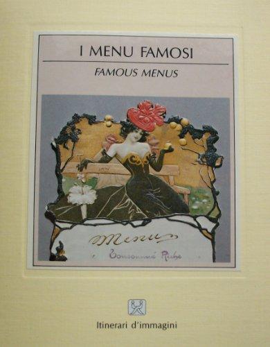 Famous Menus (Itinerari d'immagini)