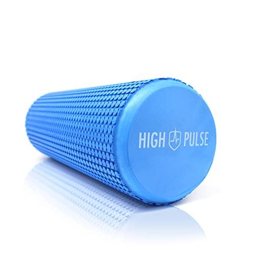 High Pulse Rodillo Pilates 43 x 15 cm + póster con ejercicios - Rodillo de espuma para...