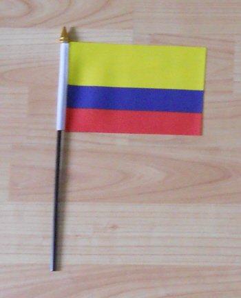 Pays Drapeau Colombie-petites mains.