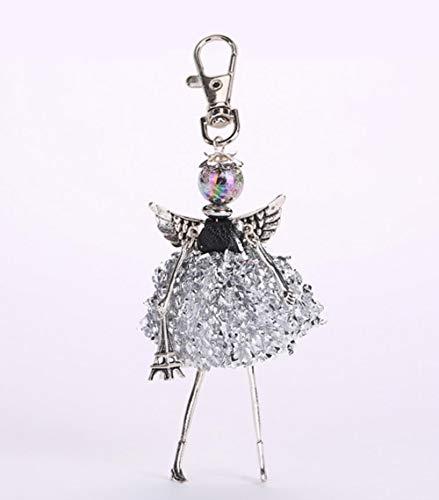 Zent New Doll Baby niedlich Frauen Schlüsselbund Auto Anhänger Mädchen Handmade Mode Schmuck Tasche Schlüsselanhänger Schlüsselanhänger, Foto Farbe 80