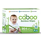 Caboo Tree Free Bamboo Baby Wipes, Eco Friendly Naturally Derived Baby...
