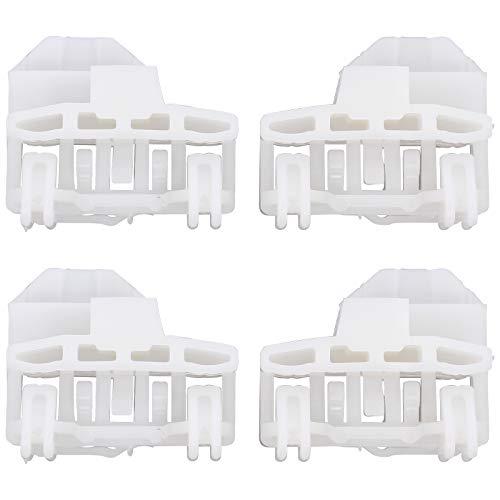 Links und Vorne Fensterheber Gleitstück Reparatur Klips Compatible with A4 B5 Passat Satz je 2