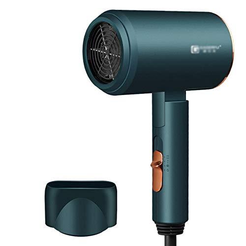 FRTG Secador de Pelo Profesional eólica Potente luz Azul anión secador de Pelo eléctrico secador de Aire Herramientas de peluquería,C
