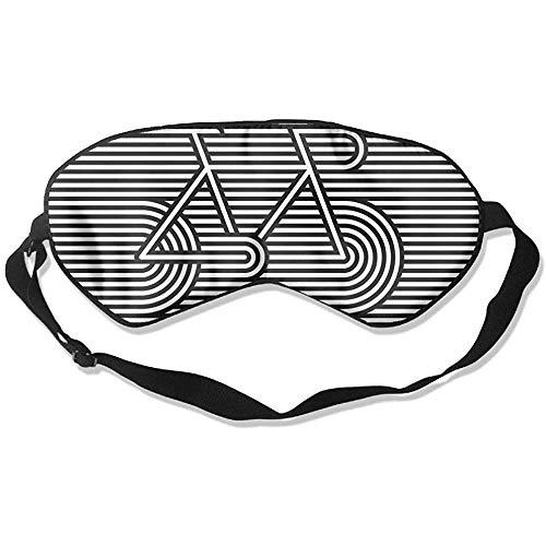Slaap oogmasker fiets lijn soort zachte oogstrip verstelbare hoofdband eyeshade Travel Eyepatch