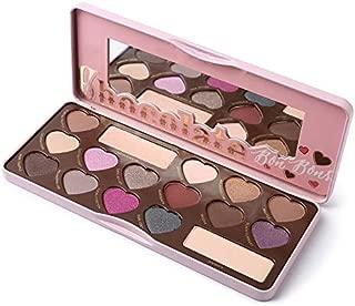 Bon Bons Chocolate Eyeshadow Palette Highlights Matte Shimmer Eyeshadow