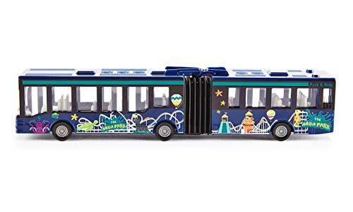 siku 1617, Gelenkbus, Metall/Kunststoff, Mehrfarbig, Vielseitig einsetzbar, Spielzeugfahrzeug für Kinder (Sortierte Farbe)