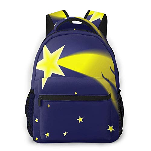 DJNGN Mochila para ordenador portátil, 15.6 pulgadas, elegante, mochila escolar escolar linda cometa en el cielo, resistente al agua, casual, mochila Ruc