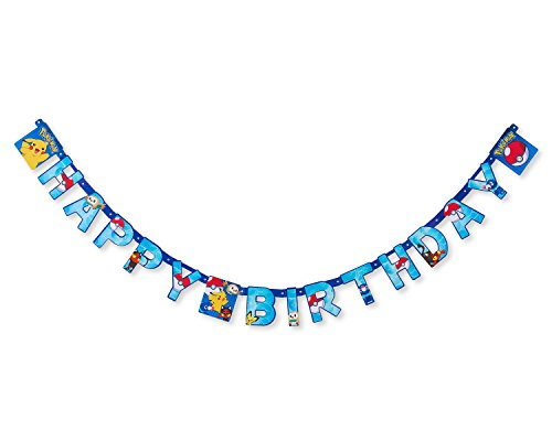 American Greetings Pokemon Party Supplies, Banner (1-Count)