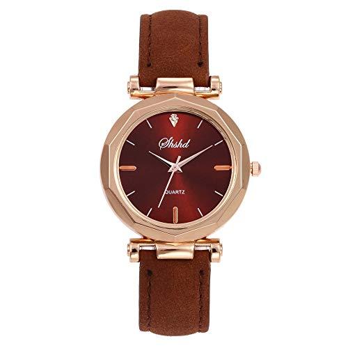 jiushixw Roségold Frauen Uhren Minimalismus Sternenhimmel Magnetschnalle Mode Casual Female Wristwatch wasserdichte römische Ziffer #A