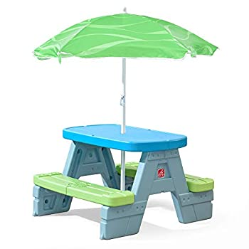Step2 Sun & Shade Picnic Table with Umbrella