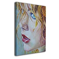 Skydoor J パネル ポスターフレーム 女 顔 インテリア アートフレーム 額 モダン 壁掛けポスタ アート 壁アート 壁掛け絵画 装飾画 かべ飾り 50×40