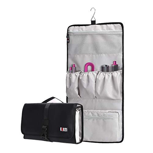 Honbobo BUBM Tragbare Aufbewahrungstasche für Dyson Airwrap Lockenstäbe,Hang Organisator Tasche für Dyson Airwrap Styler und Zubehör