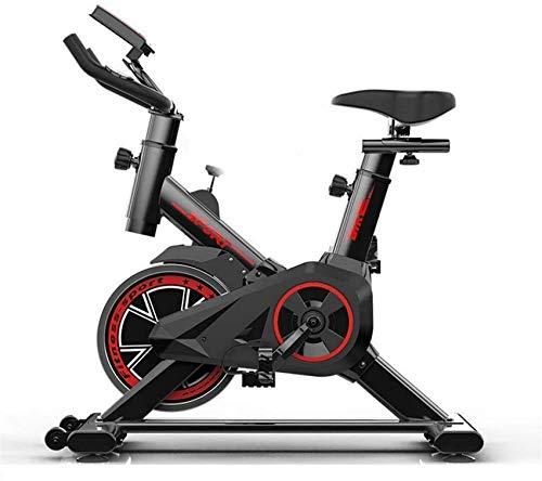 LJYY Vélos d'exercice de Fitness Vélo d'exercice Droit Vélo d'exercice muet avec Ordinateur...