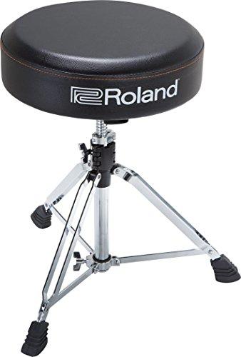 Runder Roland Drum-Hocker mit strapazierfähigem Vinyl-Sitz – RDT-RV