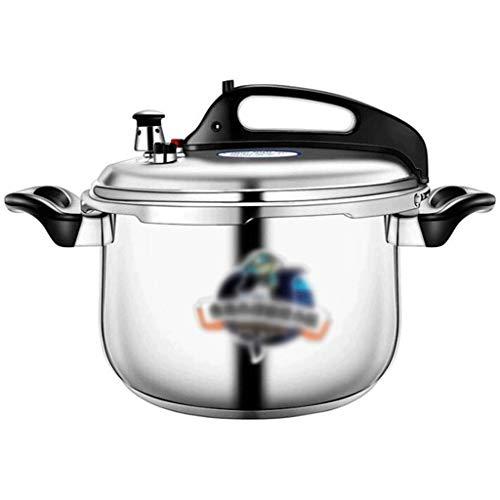 ZLDGYG Acero Inoxidable 304 Presión Pressure Cooker Canner Utensilios de Cocina lavavajillas Seguro, rápido Olla de Cocina, Cocina de Gas Adecuado for Pequeñas Olla de presión (Size : 9L)