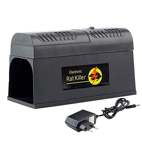 FLLOVE Los Ratones Behogar Descarga eléctrica Rata del ratón del...