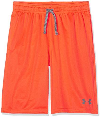 Under Armour - Fitness-Shorts für Jungen in Orange, Größe M