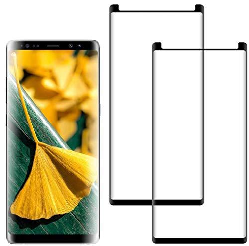 [2-Pezzi] Vetro Temperato Compatibile con Samsung Galaxy Note 8, [Copertura Completa] [Durezza 9H] [Anti Graffi][3D Touch], Pellicola Protettiva per Samsung Galaxy Note 8
