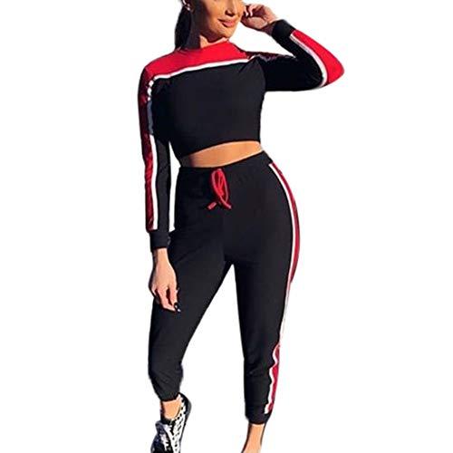 Chevron VINTAGE confortevole vestibilità comoda elastico Pantaloni Yoga Vacanza