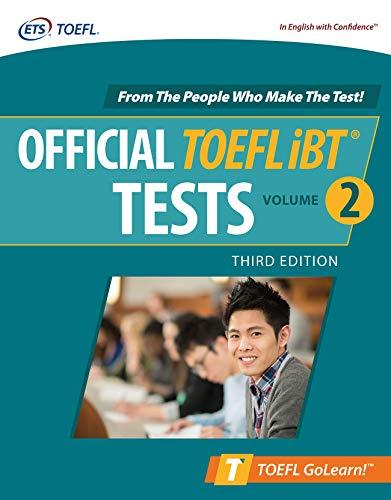 Official TOEFL iBT Tests Volume 2, Third Edition