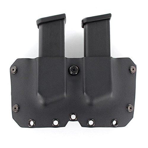 R&R Holsters OWB Double MAG Holster - Black (Left-Hand -...