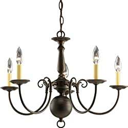 Bronze chandelier traditional bronze 8th anniversary present idea