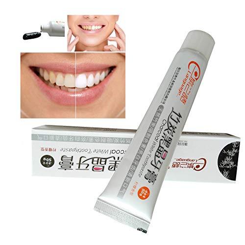Kaiki Whitening Zahnpasta, Bambus Holzkohle Schwarze Zahnpasta Zähne Whitening Reinigung Hygiene Mundpflege