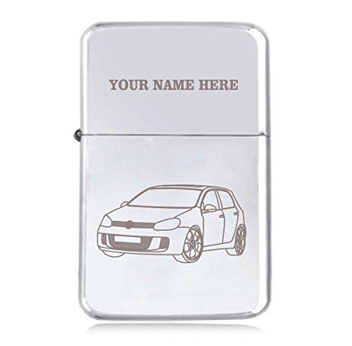 VW Golf Mk5Design–personalisierbar Star winddicht Benzin Feuerzeug