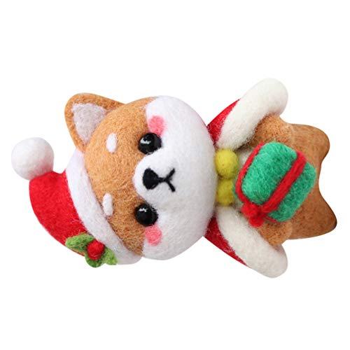 ULTNICE Shiba Inu Hund Wolle Filz Hand DIY Wolle Filz Handwerk Handarbeit Spielzeug