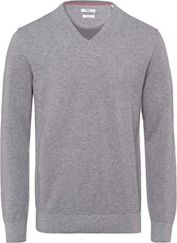 BRAX Herren Style Vico Pullover, Smoke, 50