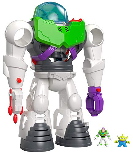 Fisher Price Imaginext Disney Pixar Toy Story Buzz Lightyear Robot Playset for Preschool Kids Ages 3 years and Up [Amazon Exclusive]