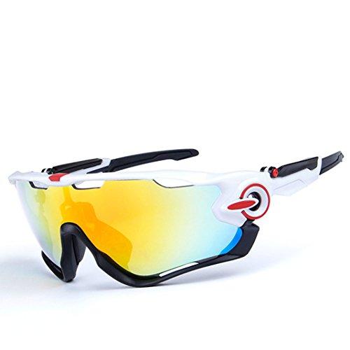 Opel-R Conducción Al Aire Libre Polarizado Deporte Ocio Material Playa Gafas de Sol/Gafas de Gafas C, Contiene Cinco Variedad de Lentes de Decoración , 2Subsection