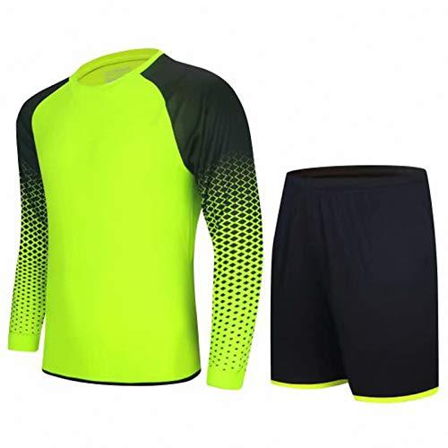 WYNBB Mujer Ciclismo Jersey Set,Hombre Football Goalkeeper Camisa,Verano Al Aire Libre Deportes Pantalones Cortos,Bicicleta Juego Formación Manga Corta,5,Medium