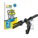 BROTECT Protector Pantalla Completa Mate Compatible con Segway Ninebot KickScooter MAX G30D II (2 Unidades) 3D Curvo Película Protectora