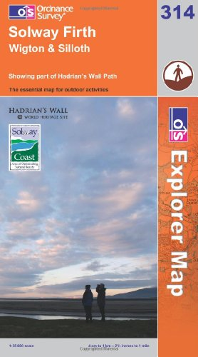 OS Explorer map 314 : Solway Firth