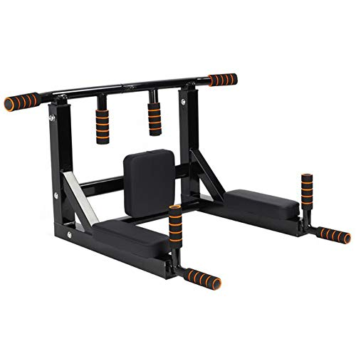 BDouY Barra de Tiro montada en la Pared Colgante Multifuncional montado en la Pared Pull Up Bar Set…