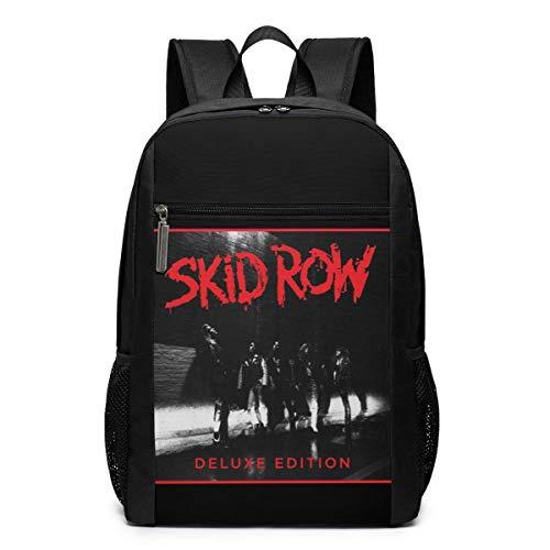 ZYWL Skid Row Skid Row 17 'Klassischer multifunktionaler Rucksack mit hoher Kapazität und Computertasche Schwarz