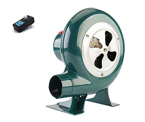 SY-Home Soplador De Barbacoa De 220 V, Chimenea Portátil para El Hogar, Ventilador De Combustión Eléctrico para Barbacoa para Acampar Al Aire Libre,60W