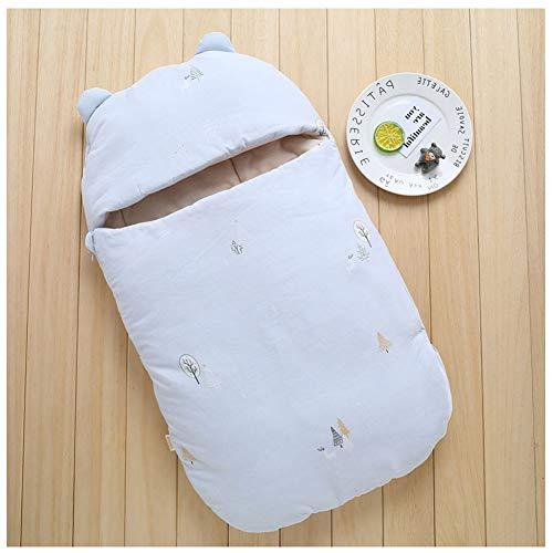 WGXQY Slaapzak van bont katoen, slaapzak, anti-baloritive, zacht en comfortabel, anti-kalk van het kind van 0~12 maanden